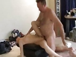 Old man fucks than cums in girl's mouth