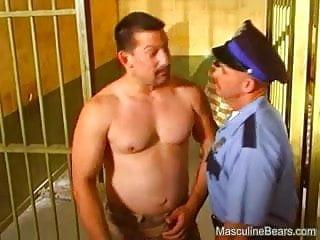 Horny prisoners threesome...