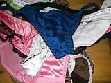 Sister's satin panties drawers difficult choices.