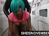 Young Ebony Teen Msnovember Big Ass Anal N Public Laundromat