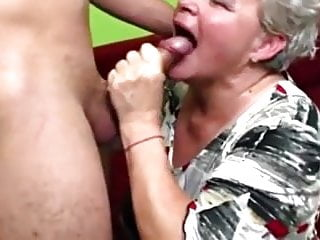 Fat granny is an amazing fuck...