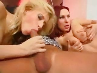 Big titty babes with lucky dudes in hot orgy