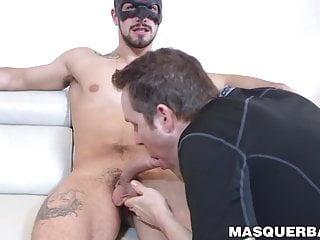 Masked gay mature deviant homo...