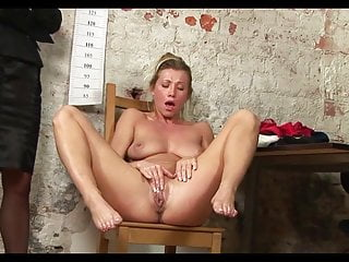 naked humiliating inteview Sexy secretary MILF job