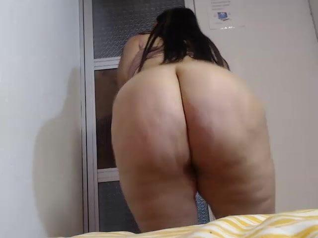 Chubby curvy latina Anastaciacandy1 HUGE ass clapping!!