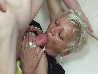 Horny Neighbor Fucks Mature Lady