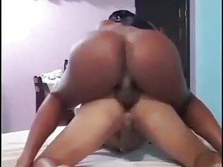 submissive TS boy Thick bitch fucks Latina her