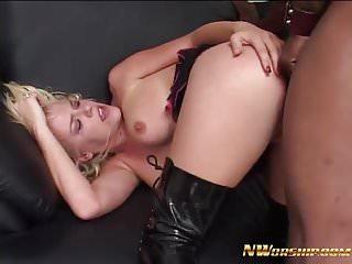 Hot blonde slut get fucked by cock...