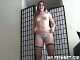 I will tease you in the fishnets you love JOI