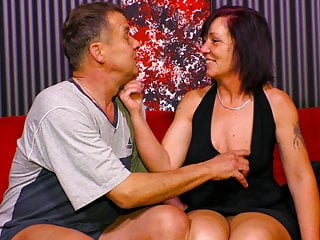 AmateurEuro – Old Couple Fetches Down & Soiled On The Sofa