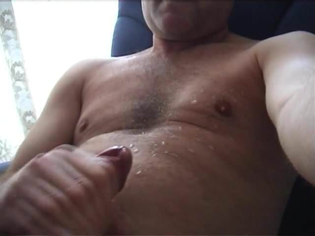 Shooting A Hot Load Of Cum Big Cock Masturbation Hot Gay