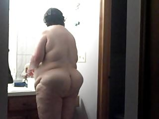 Deb 56 year old wife take by hidden camera