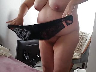 Bbw hairy pussy black sexy pantys on fat...
