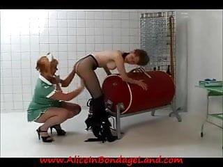 Prison lesbian medical exam amp bondage humiliation punishment...