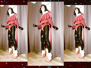 Roxy velvet on latex...