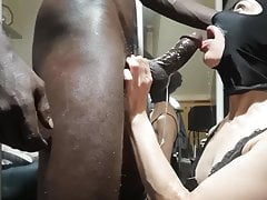 White Nympho Sister-In-Law Plays With BBC at Home. Milf and BBC