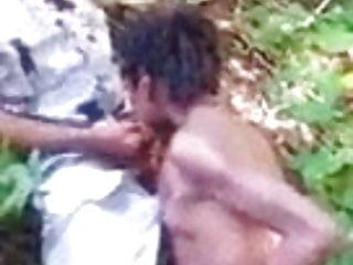 Desi girl fucking outdoors with her Boyfriend 6