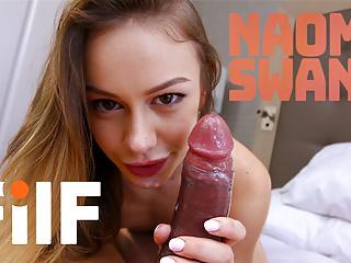 FILF – Naomi Swann Smashes Her Giant Dicked Stepdad