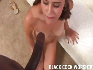 His big black cock is really going to punish my pussy