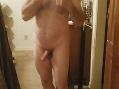 Naked mirror vid