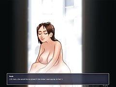 Nude Sister taking Bath.