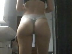 Ex gf dancing with perfect ass