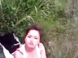Desi Hindi Girlfriend Fucking outdoors With Her boyfriend 20