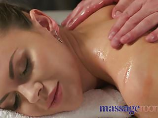 Massage rooms russian oiled up for sensual fuck...