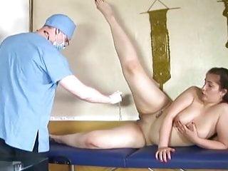 Chubby medical examination...