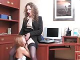 Lady boss fucked maid