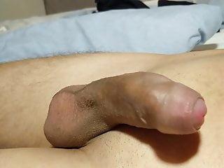Cumshot in condom