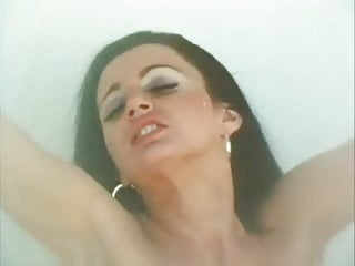 Erotic lesbian scene in desert (with Gina Janssen)