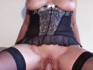 sexy reife Frau in Dessous wird von ihrem Stiefsohn gefickt - Bild 8