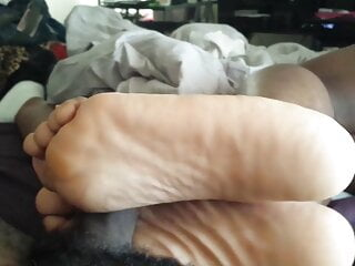She said she misses her soles on my dick...