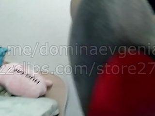 Domina Evgenia - POV Foot Fetish (Demo)