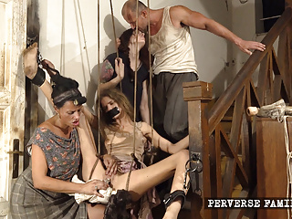 Gangbang Fingering Bdsm video: Daddy Fucks Daughters Friend
