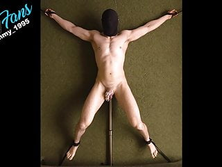Edging in Chastity while Tied Down Prostate Vibrator trailer
