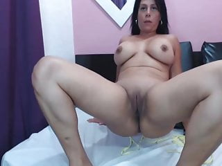 Latina ass and tits webcam show amp pussy...