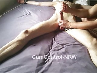Control edging teasing explosive cumshot...