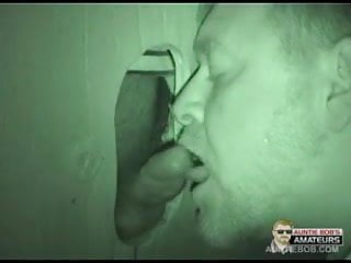 Hidden cam glory hole bj...