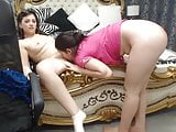 Lesbian Couple Great Tits, eating Pussy, gorgeus Body!