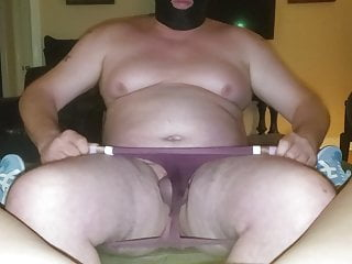 Hotwife makes her cuck perform creampie clean up...