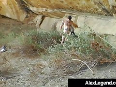 Horny Hiker Lea Lexis Gets Banged By Alex Legend Outdoors!