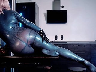 Arya Grander video latex fetish sexy rubber compilation
