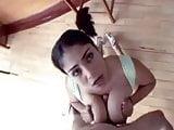 Big tits latina fucks nasty
