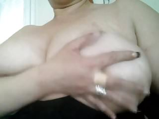 Milf playing to tease me...