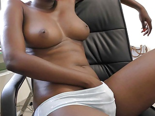 Black doggy style and cum inside...