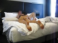 My wife desi Indian wife with Mark and his 9.4 incher-1