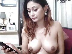 desi indian bhabhi is dancing with vibrator.Porn Videos