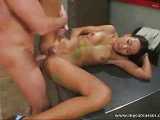 Hardcore sex with sexy Asian